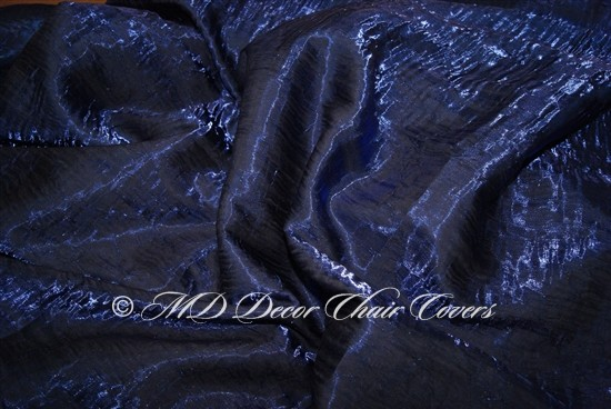 Crush Shimmer Royal Blue Table Overlay