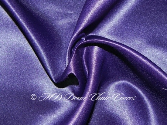 DEEP PURPLE SATIN LAMOUR