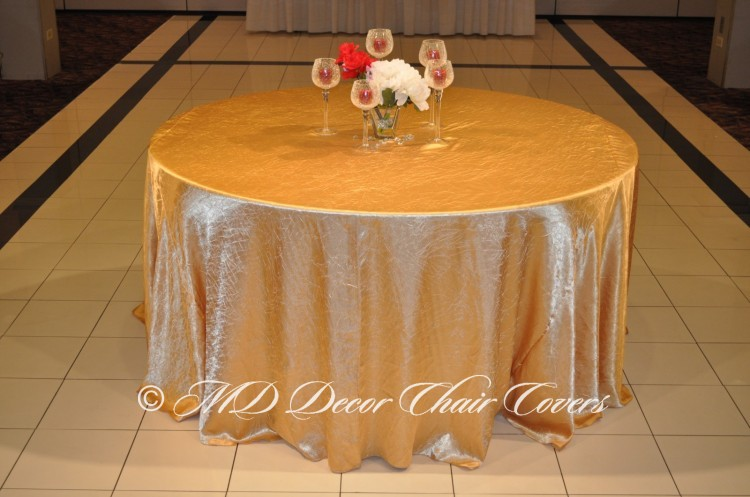 Gold-Crushed-Satin-Tablecloth