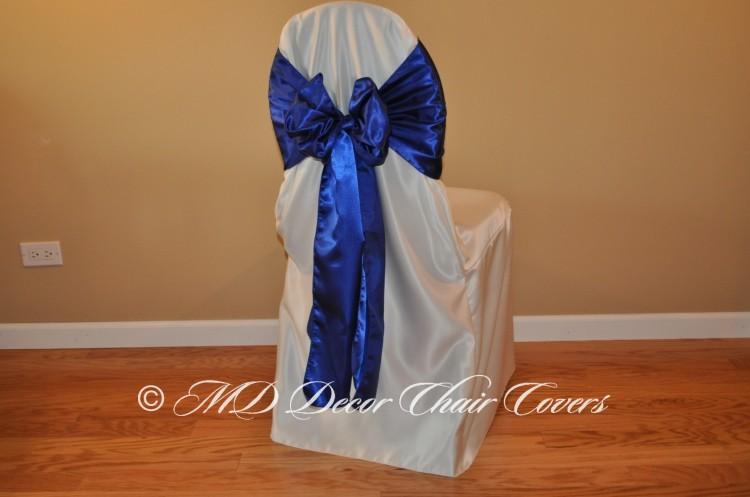 Royal Blue Butterfly Bow Style