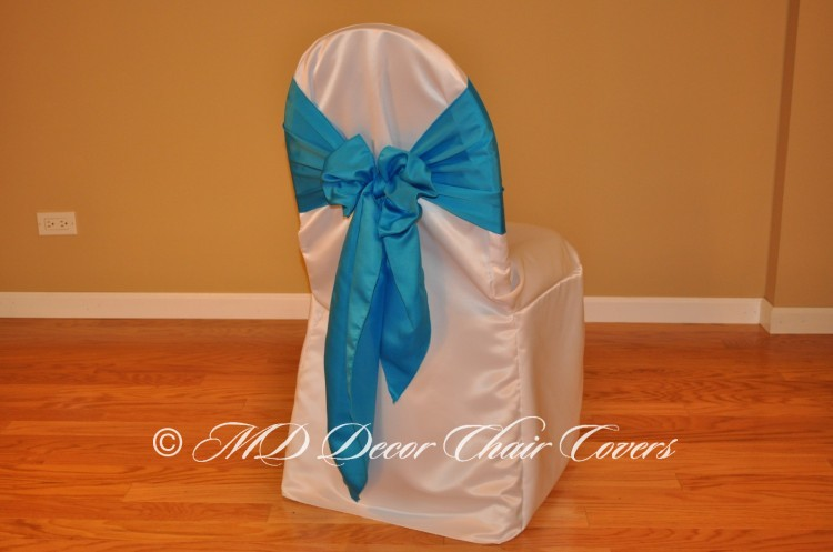 Turquoise Butterfly Bow Style